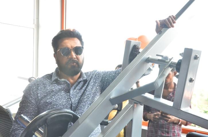 Actor Sarathkumar Inaugurated Flux Fitness Studio (11)