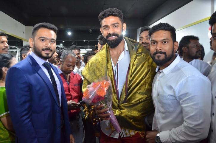 Actor Sarathkumar Inaugurated Flux Fitness Studio (12)