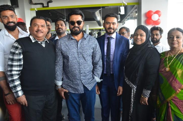 Actor Sarathkumar Inaugurated Flux Fitness Studio (13)