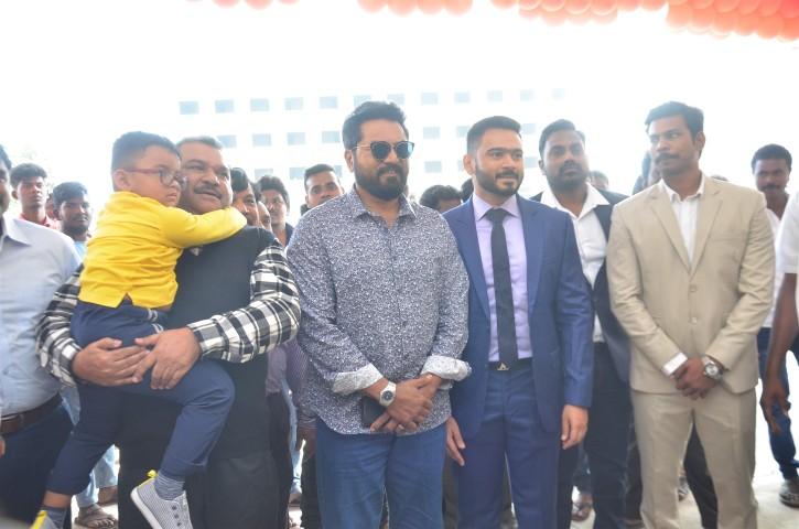 Actor Sarathkumar Inaugurated Flux Fitness Studio (2)