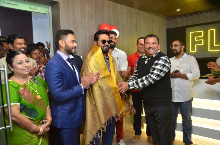 Actor Sarathkumar Inaugurated Flux Fitness Studio (4)