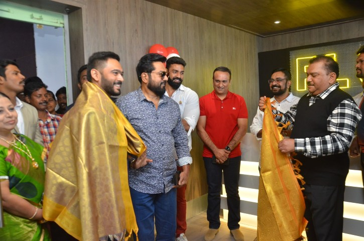Actor Sarathkumar Inaugurated Flux Fitness Studio (5)