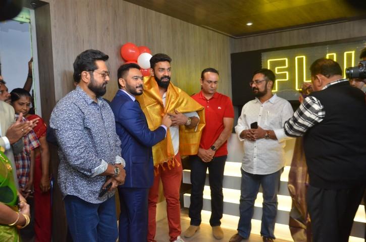 Actor Sarathkumar Inaugurated Flux Fitness Studio (6)