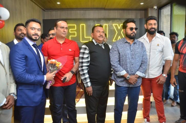 Actor Sarathkumar Inaugurated Flux Fitness Studio (7)