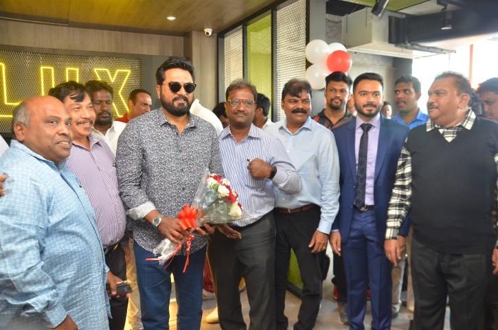 Actor Sarathkumar Inaugurated Flux Fitness Studio (8)