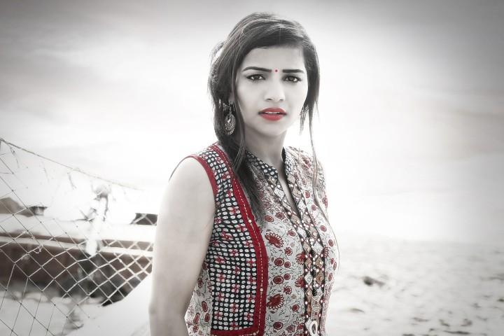 Actress Anju Kriti Photoshoot Images (11)