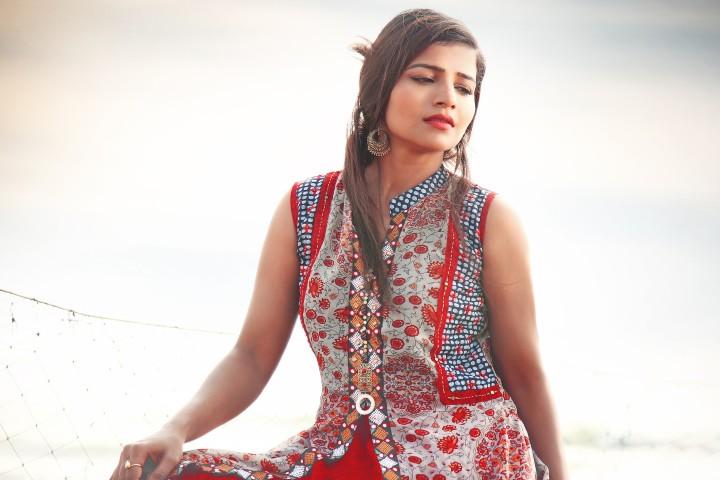Actress Anju Kriti Photoshoot Images (7)