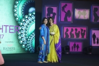 AVANI GIRI, JIGYASA GIRI (R) at FEMINA SUPER DAUGHTERS AWARDS 2017