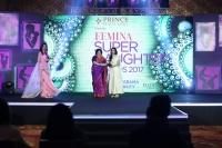 Aishwaryaa R Dhanush and Latha Rajnikanth(L) at FEMINA SUPER DAUGHTERS AWARDS 2017