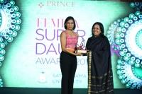 ROHINI RAU, AYSHA RAU (R) at FEMINA SUPER DAUGHTERS AWARDS 2017