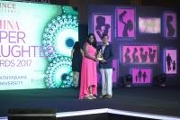 THIRUSHKAMINI MD . M DICKESHWASHANKAR (R) at FEMINA SUPER DAUGHTERS AWARDS 2017