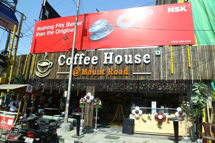 Grand Opening of Coffee House (1)