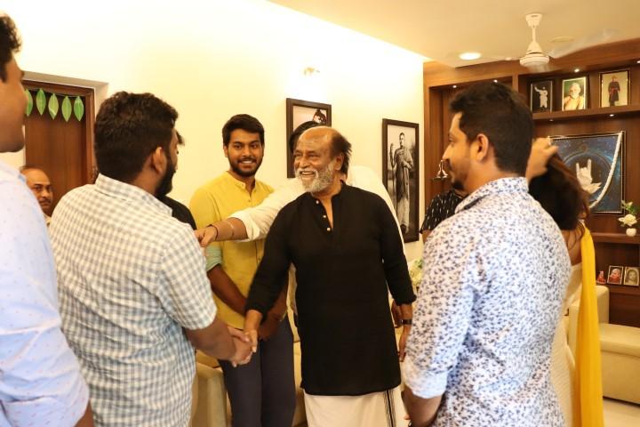 Mercury Team Met Superstar Rajinikanth (1)