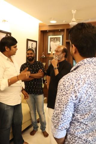 Mercury Team Met Superstar Rajinikanth (2)