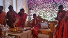 Vikram's daughter gets engaged