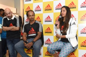 amrith-gopinath-director-brand-activations-adidas-india-dipika-pallikal-at-the-official-launch-of-adidas-uprising-press-conference